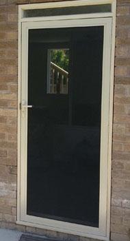 steel mesh doors