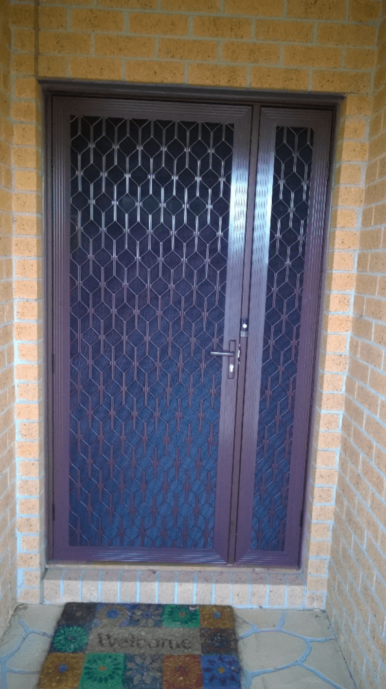 Decorative Diamond Grille Door Craigieburn Screen Doors