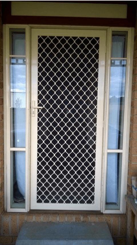 Diamond Grille Door Preston Screen Doors