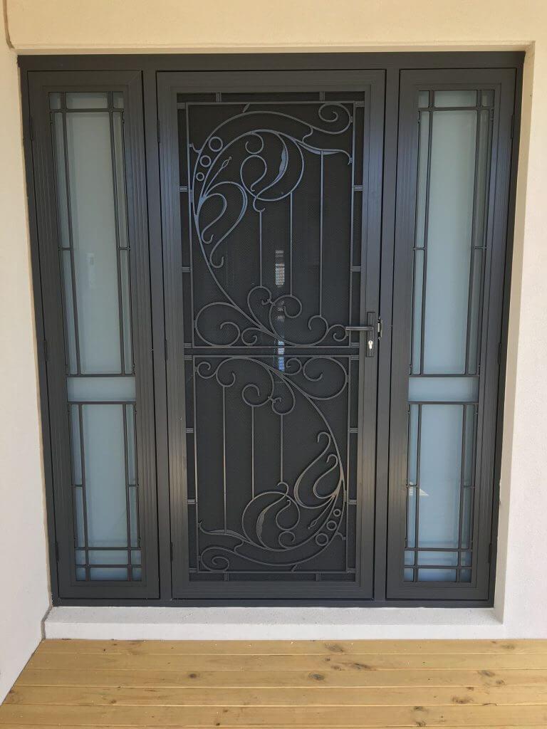 Designer Security Doors Front Security Door Screen Doors