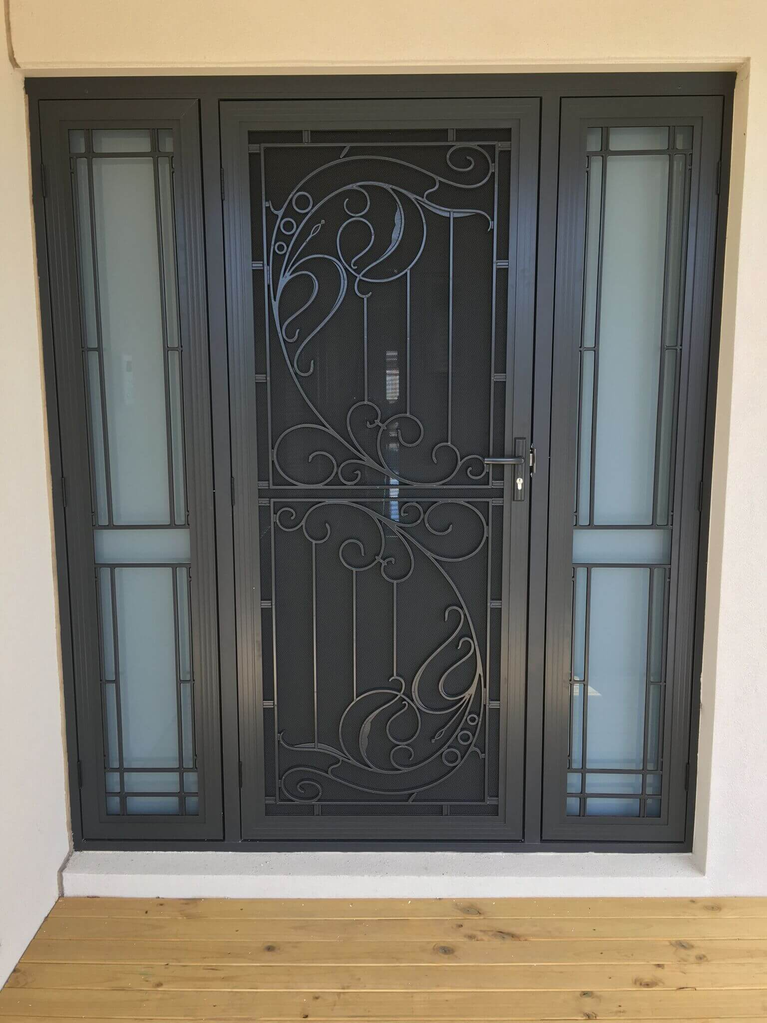 Designer Security Doors Screen Doors